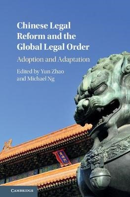 Chinese Legal Reform and the Global Legal Order - pr_36999