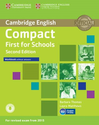 Compact First for Schools Workbook without Answers with Audio - pr_1703215