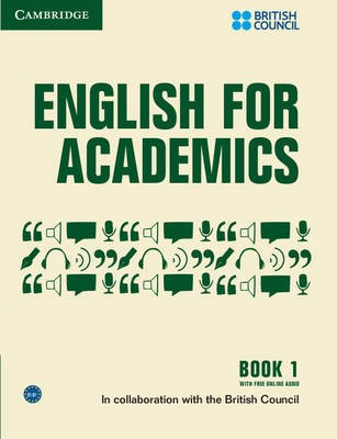 English for Academics 1 Book with Online Audio - pr_44020