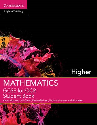GCSE Mathematics for OCR Higher Student Book -