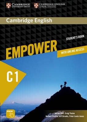 Cambridge English Empower Advanced Student's Book with Online Assessment and Practice, and Online Workbook - pr_20297
