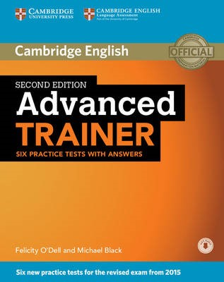 Advanced Trainer Six Practice Tests with Answers with Audio - pr_242967