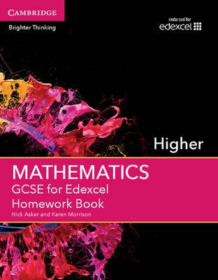 GCSE Mathematics for Edexcel Higher Homework Book -