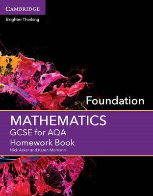 GCSE Mathematics for AQA Foundation Homework Book - pr_17365