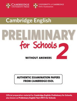 Cambridge English Preliminary for Schools 2 Student's Book without Answers - pr_31023