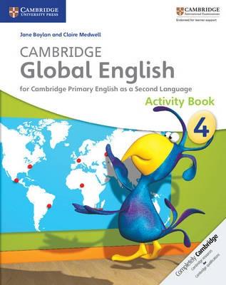 Cambridge Global English Stage 4 Activity Book -