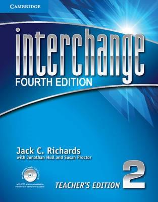 Interchange Level 2 Teacher's Edition with Assessment Audio CD/CD-ROM -