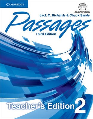 Passages Level 2 Teacher's Edition with Assessment Audio CD/CD-ROM -