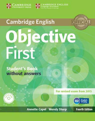 Objective First Student's Book without Answers with CD-ROM - pr_14341