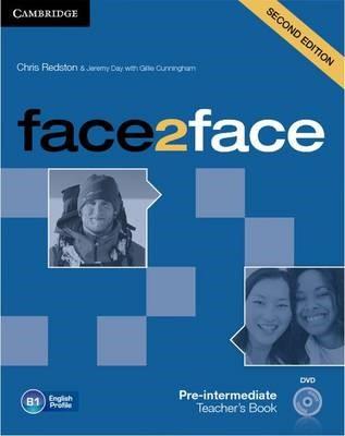 face2face Pre-intermediate Teacher's Book with DVD - pr_207089