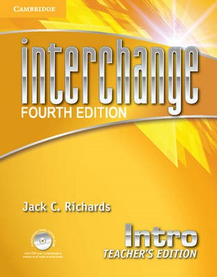 Interchange Intro Teacher's Edition with Assessment Audio CD/CD-ROM -