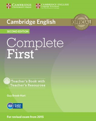 Complete First Teacher's Book with Teacher's Resources CD-ROM - pr_246711