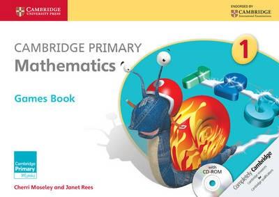 Cambridge Primary Mathematics Stage 1 Games Book with CD-ROM - pr_289246