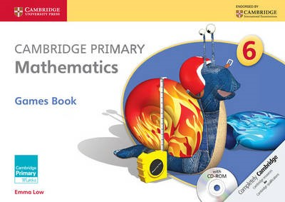 Cambridge Primary Mathematics Stage 6 Games Book with CD-ROM - pr_288832