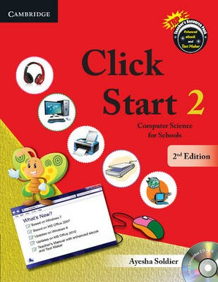 Click Start Level 2 Student's Book with CD-ROM - pr_19508