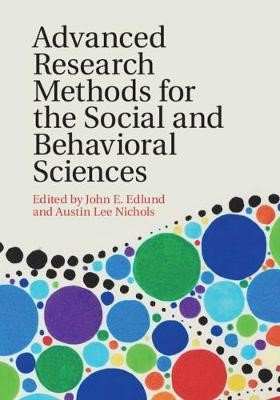 Advanced Research Methods for the Social and Behavioral Sciences - pr_289489