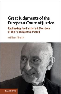 Great Judgments of the European Court of Justice - pr_377838