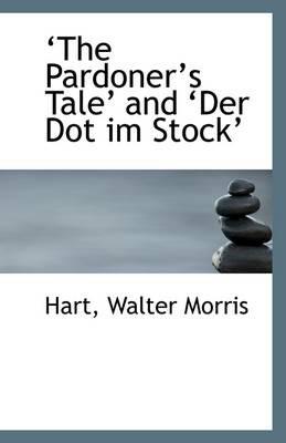The Pardoner's Tale and Der Dot Im Stock - pr_8309