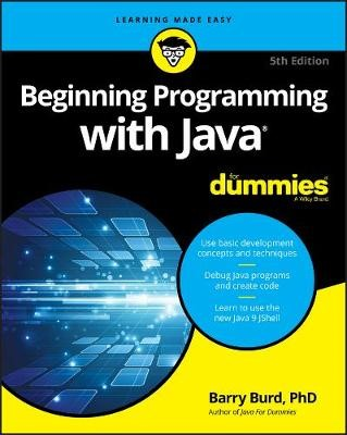 Beginning Programming with Java For Dummies - pr_104163