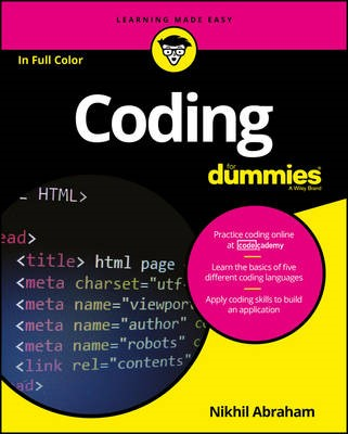 Coding For Dummies -