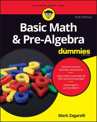 Basic Math & Pre-Algebra For Dummies - pr_335491