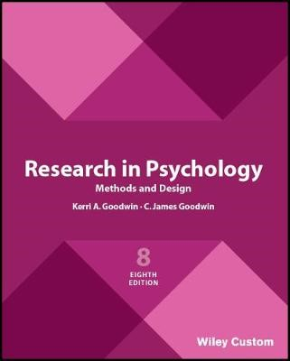 Research in Psychology Methods and Design 8e - pr_220606