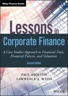 Lessons in Corporate Finance - pr_130404