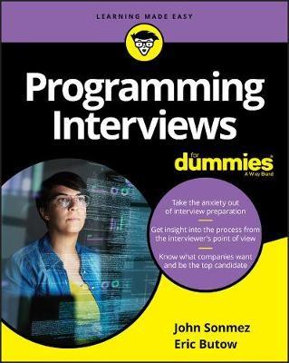 Programming Interviews For Dummies -