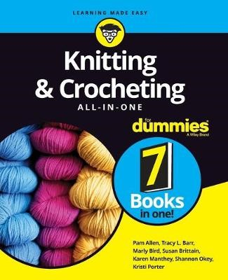 Knitting & Crocheting All-in-One For Dummies - pr_1845010
