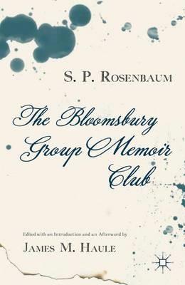 The Bloomsbury Group Memoir Club - pr_20749