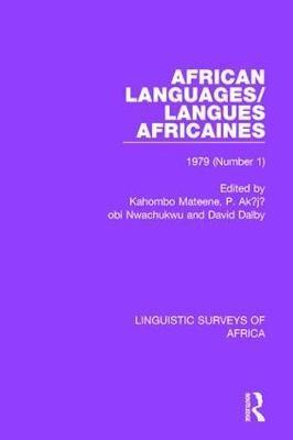 African Languages/Langues Africaines - pr_51736