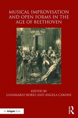 Musical Improvisation and Open Forms in the Age of Beethoven - pr_237153