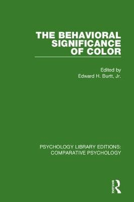 The Behavioral Significance of Color - pr_1748443