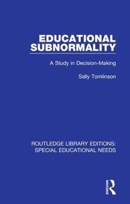 Educational Subnormality - pr_32139