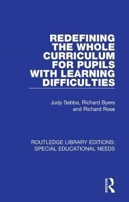 Redefining the Whole Curriculum for Pupils with Learning Difficulties - pr_31497