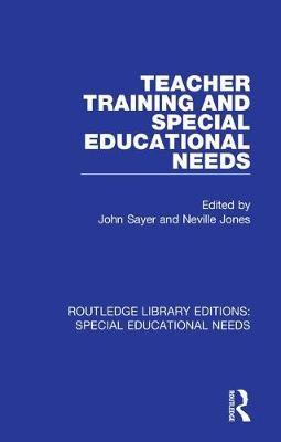 Teacher Training and Special Educational Needs - pr_31969