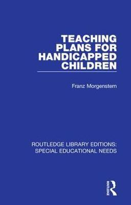 Teaching Plans for Handicapped Children - pr_31734