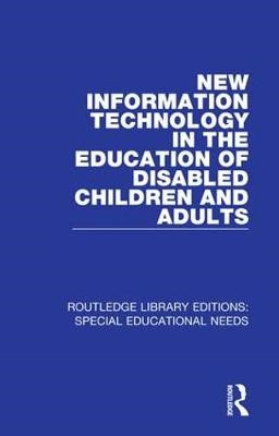 New Information Technology in the Education of Disabled Children and Adults - pr_31901