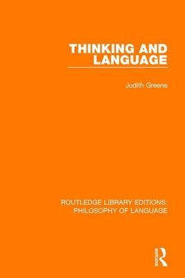 Thinking and Language - pr_32038