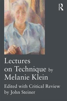 Lectures on Technique by Melanie Klein - pr_191395