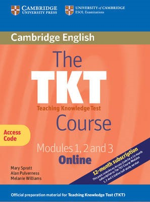 The TKT Course Modules 1, 2 and 3 Online (Trainee Version Access Code Card) - pr_36620