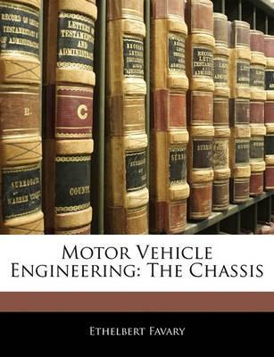 Motor Vehicle Engineering - pr_16734