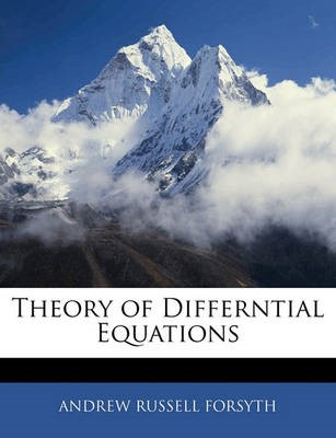 Theory of Differntial Equations - pr_213646