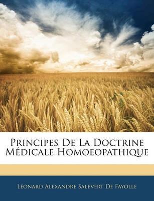 Principes de La Doctrine Medicale Homoeopathique - pr_213649