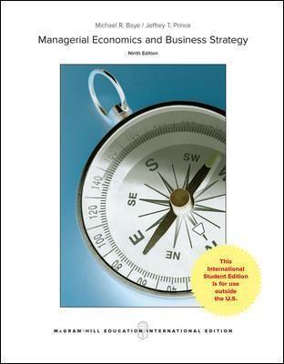 Managerial Economics & Business Strategy - pr_71049