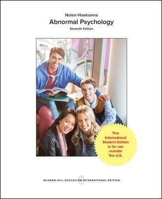 LooseLeaf for Abnormal Psychology -