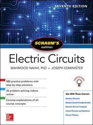 Schaum's Outline of Electric Circuits, Seventh Edition - pr_335898