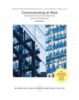 ISE Loose Leaf for Communicating at Work - pr_71121
