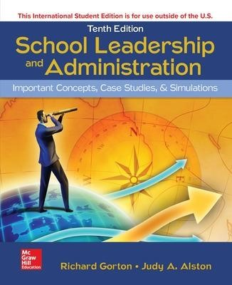 ISE School Leadership and Administration: Important Concepts, Case Studies, and Simulations - pr_71132