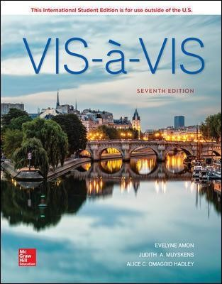 ISE Vis-a-vis: Beginning French (Student Edition) -